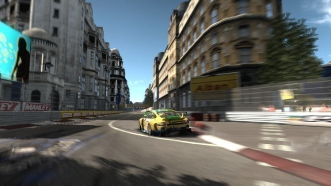 Rennspiel Need for Speed – Shift: Curbs