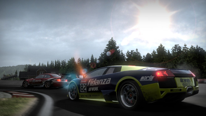 Rennspiel Need for Speed – Shift: Randsteine