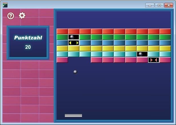 Screenshot 1 - Bricks Squasher(Ziegel-Zerstörer)