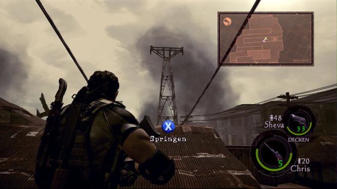 Komplettlösung Resident Evil 5: Emblem 09