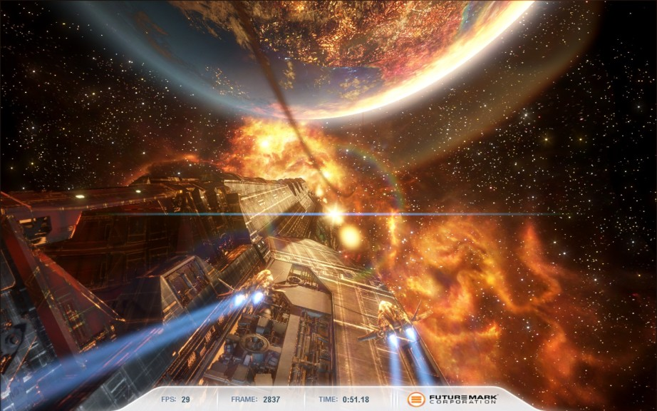 Screenshot 1 - 3DMark Vantage Advanced – Kostenlose Vollversion