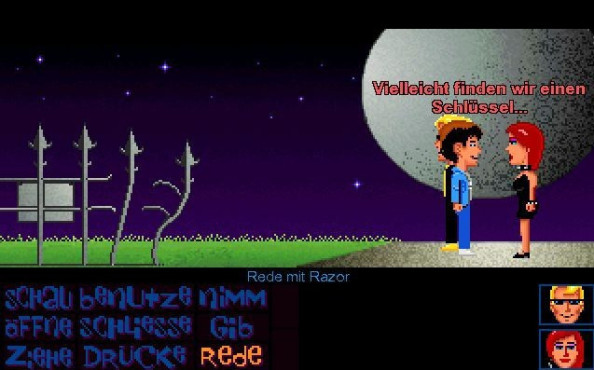 Maniac Mansion Deluxe ©LucasFanGames