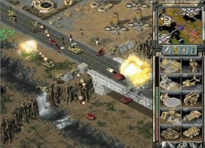 Strategiespiel Command and Conquer - Tiberian Sun: Brücke © Electronic Arts