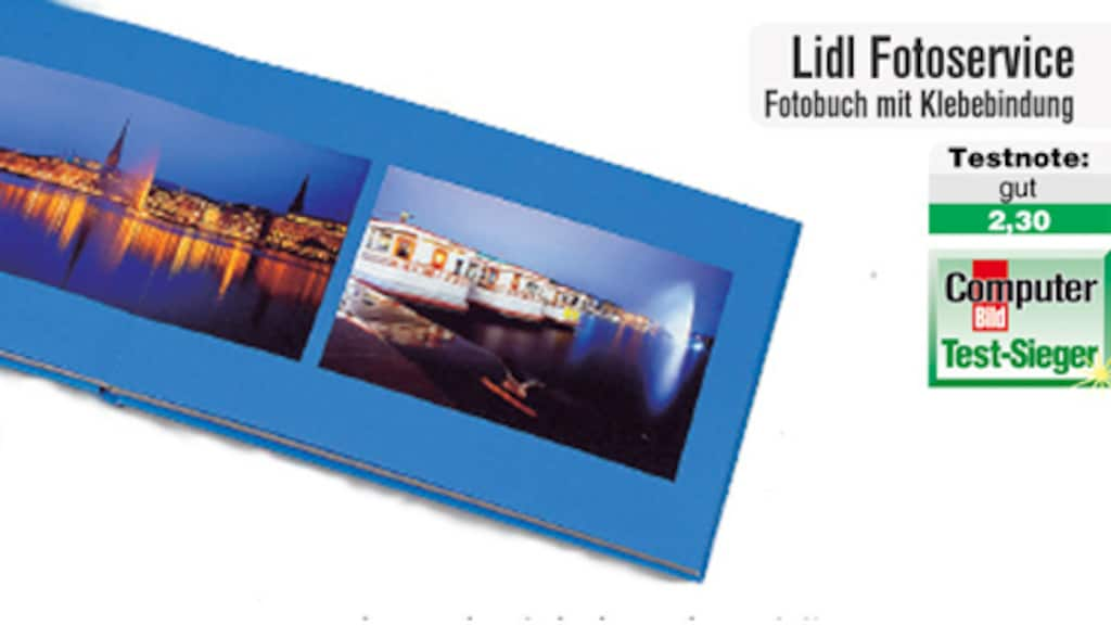Fotobuch aus dem Fotoservice von Lidl