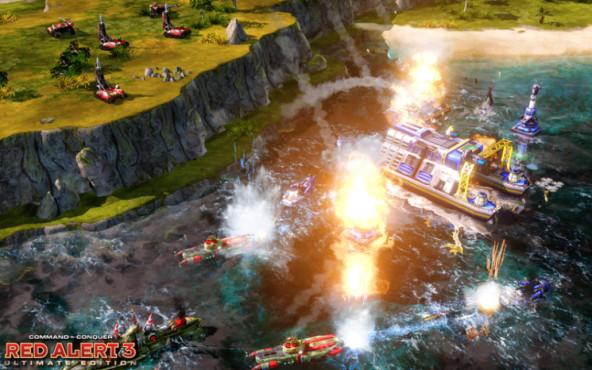 Strategiespiel Command & Conquer  Alarmstufe Rot 3 Ultimate Edition: Beschuss