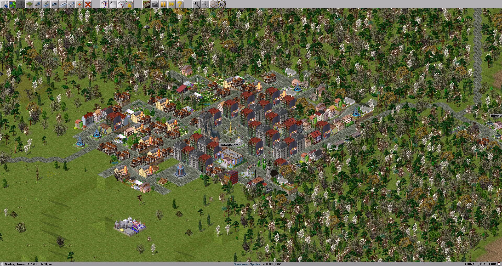 Screenshot 1 - Simutrans