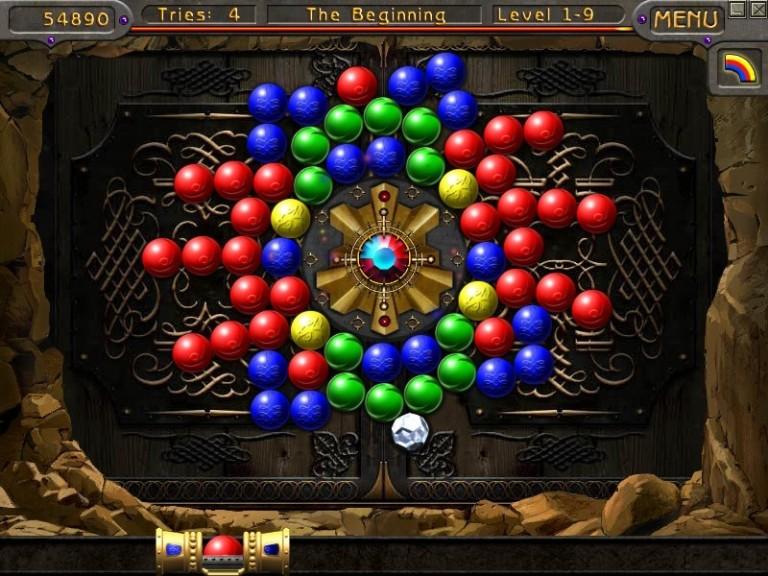 Screenshot 1 - Golden Path