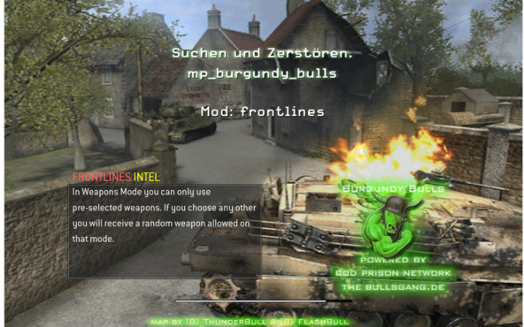 Actionspiel Call of Duty 4: Balance ©Activision