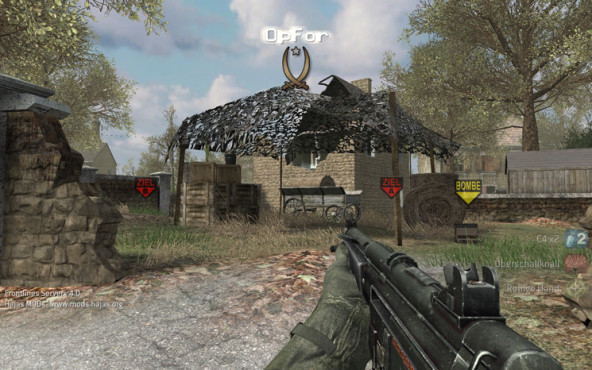 Actionspiel Call of Duty 4: Bombe ©Activision