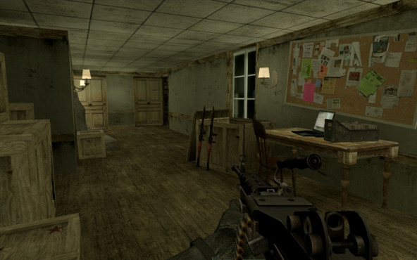 Actionspiel Call of Duty 4: Maps ©Activision