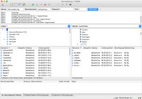 FileZilla (Mac)