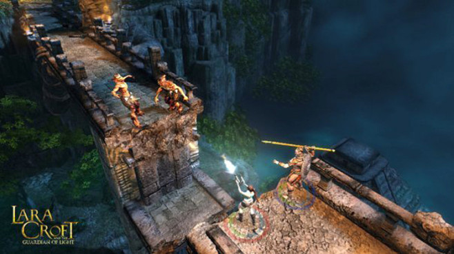 Gute Download-Spiele für PS3: Lara Croft & The Guardian of Light © Square Enix
