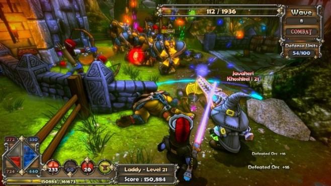 Rollenspiel Dungeon Defenders: Gras © Trendy Entertainment