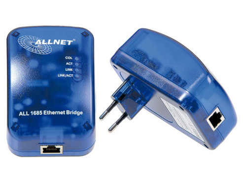 Allnet ALL1685 Powerline Bridge Starter-Kit: PowerLine
