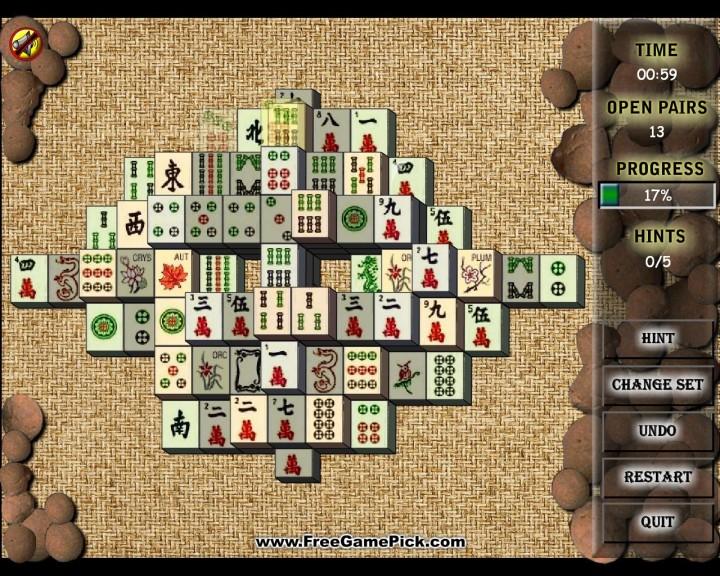 Screenshot 1 - Mahjong City
