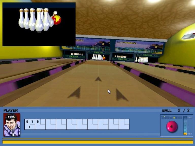 Screenshot 1 - Bowling PC