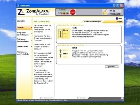 ZoneAlarm: Firewall