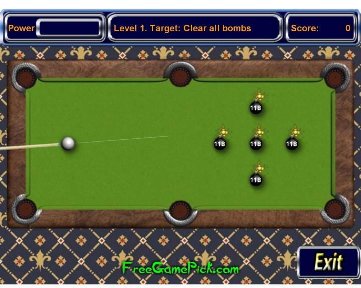 Screenshot 1 - Pool Bomb