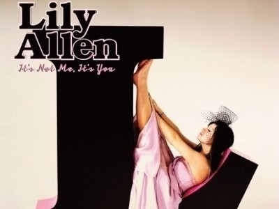 CD-Cover: Lily Allen – It's Not me, it's you