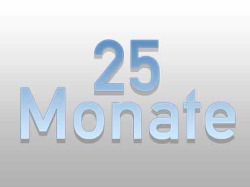 Mindestlaufzeit 25 Monate
