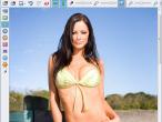 Bikini-Model in der Retusche©Magix