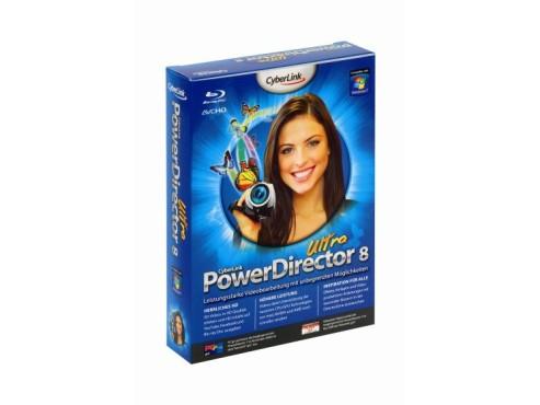 Cyberlink PowerDirector 8 Ultra: Videobearbeitung