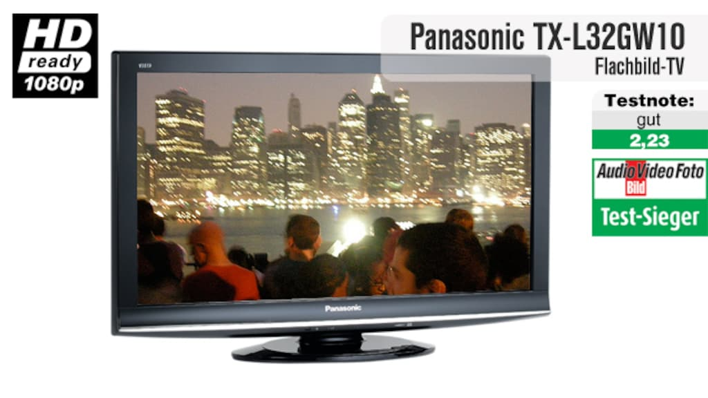 Video zum Testsieger: LCD-Fernseher Panasonic TX-L32GW10