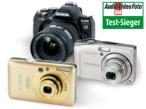 Digitalkameras: Die Testsieger 2009