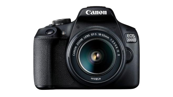 Spiegelreflexkameras für Einsteiger: Canon EOS 2000D©Canon