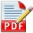Icon - PDF Import for Apache OpenOffice
