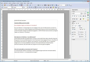 PDF Import for Apache OpenOffice