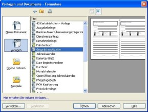Office Openoffice Libreoffice Vorlagen Plugins
