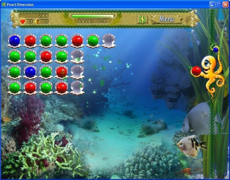 Screenshot 1 - Pearl Diversion