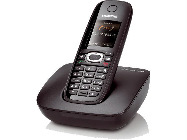 siemens gigaset c590 und c595 dect telefone computer bild. Black Bedroom Furniture Sets. Home Design Ideas