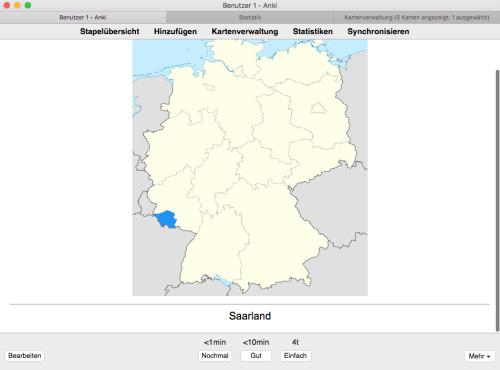 Screenshot 1 - Anki (Mac)