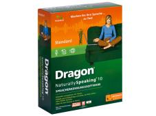 Nuance Dragon Naturally Speaking 10 Das Dragon Naturally Speaking 10 von Nuance unterstützt alle wichtigen Büro- und Mail-Programme.