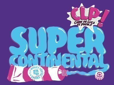 CD-Cover: CLP – Supercontinental