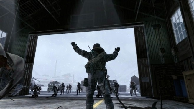 Actionspiel Modern Warfare 2: Hangar