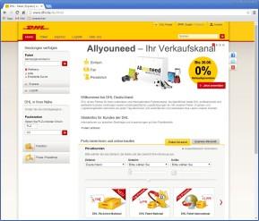 DHL: Porto für Pakete & Päckchen berechnen und online kaufen