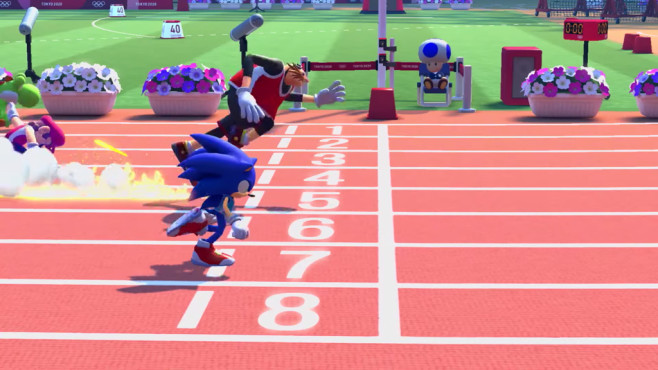 Mario and Sonic at the Olympic Games © Nintendo