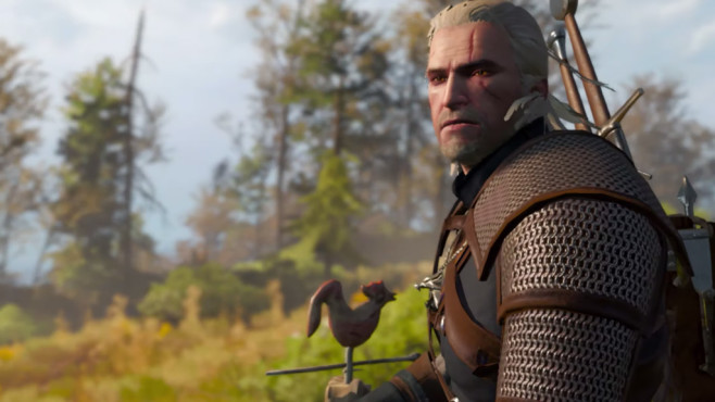 The Witcher 3 auf der Switch © Nintendo