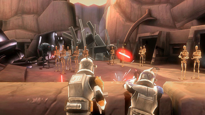 Actionspiel Star Wars – The Clone Wars – Republic Heroes: Androiden