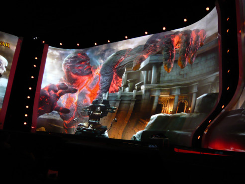 E3 2009 in Los Angeles: God of War 3