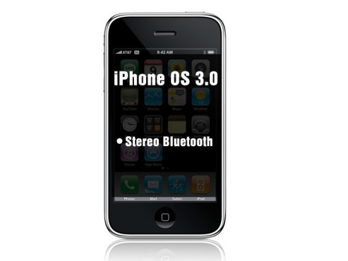 iPhone OS 3.0: Stereo-Bluetooth