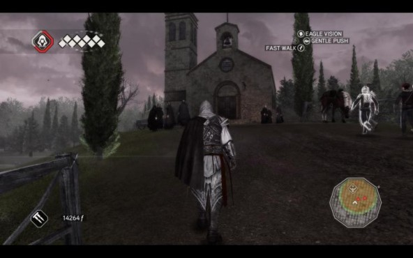Actionspiel Assassin's Creed 2: Kloster