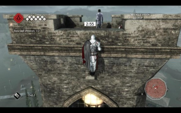 Actionspiel Assassin's Creed 2: Mauer