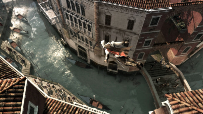 Actionspiel Assassin's Creed 2: Sprung