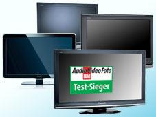 Flachbildfernseher-Testsieger 2008 Flachbildfernseher-Testsieger 2008