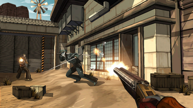 Actionspiel Red Steel 2: Hase