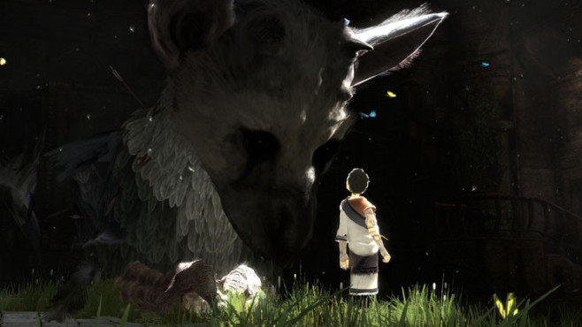 Actionspiel The Last Guardian: Freunde ©Sony